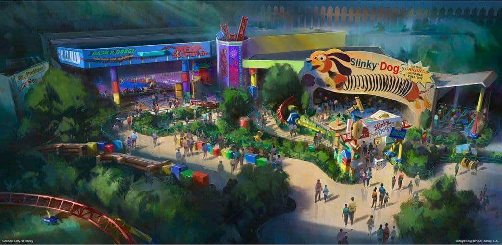 Toy Story Land - Disney Hollywood Studios - D23