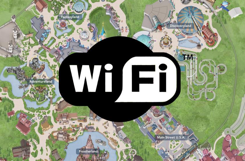 �ล�าร���หารู�ภา�สำหรั� disneyland wifi