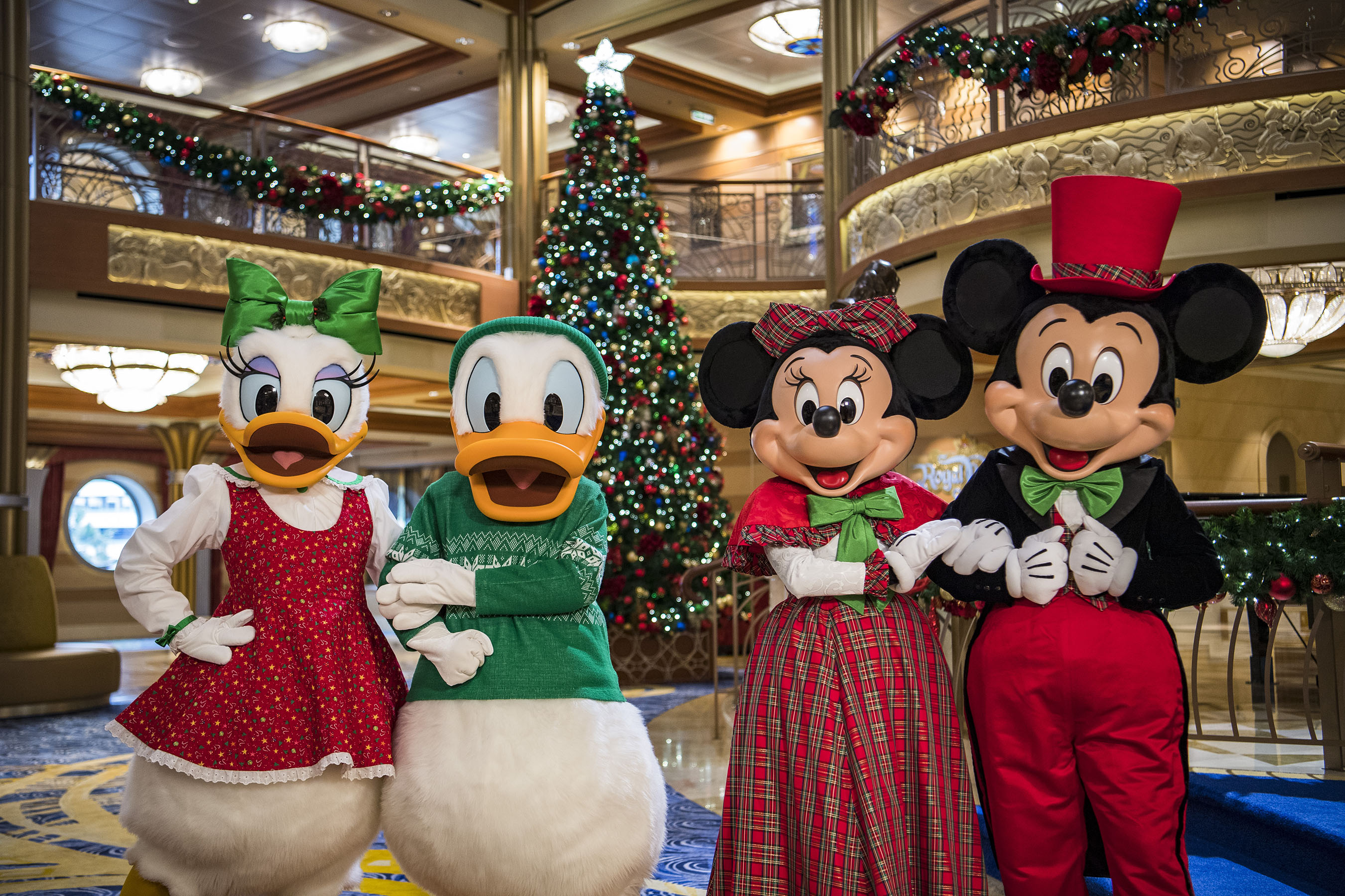 during - Disney Christmas Cruise