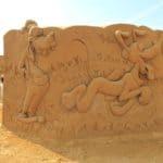Disney Sand Magic - Goofy and Pluto
