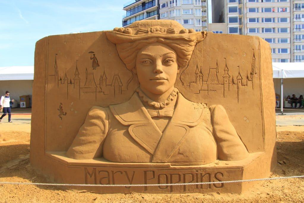 Disney Sand Magic 2017 Mary Poppins