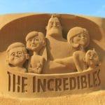 Disney Sand Magic - The Incredibles