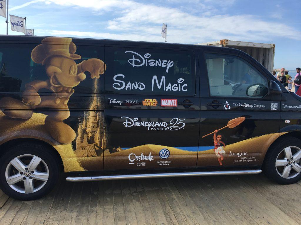Disney Sand Magic 2017 - Van