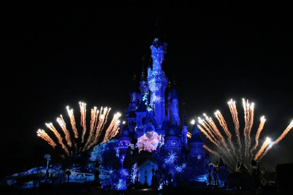 Christmas Disneyland Paris - Fireworks Disney Dreams