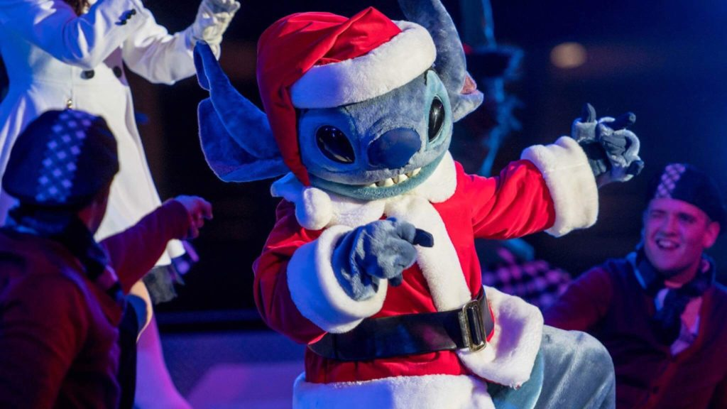 Disneyland Paris Christmas Merry StitchMas