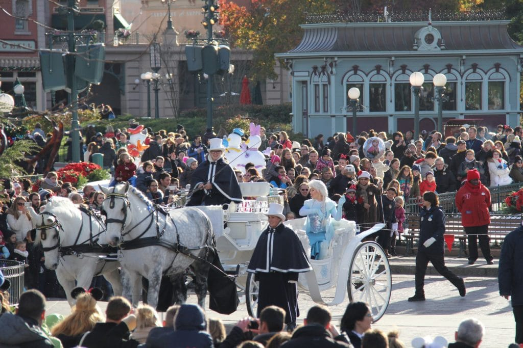 Christmas Disneyland Paris - Frozen, Royal Welcome