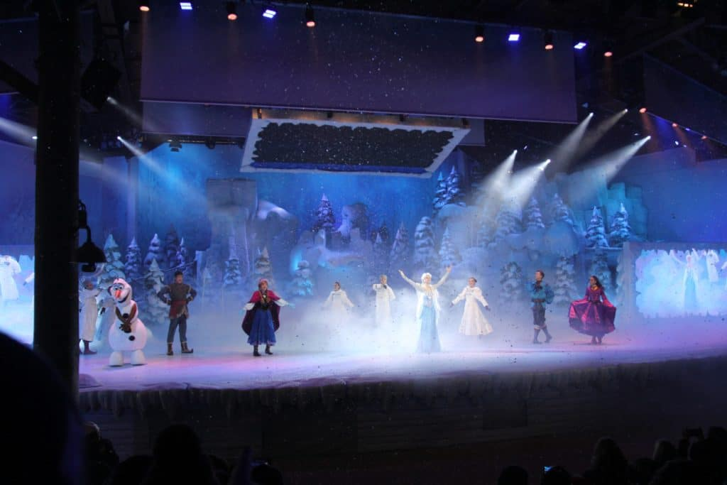 Disneyland Paris - Christmas - Frozen Sing-Along