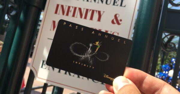 Disneyland Paris Infinity/Magic Plus entrance