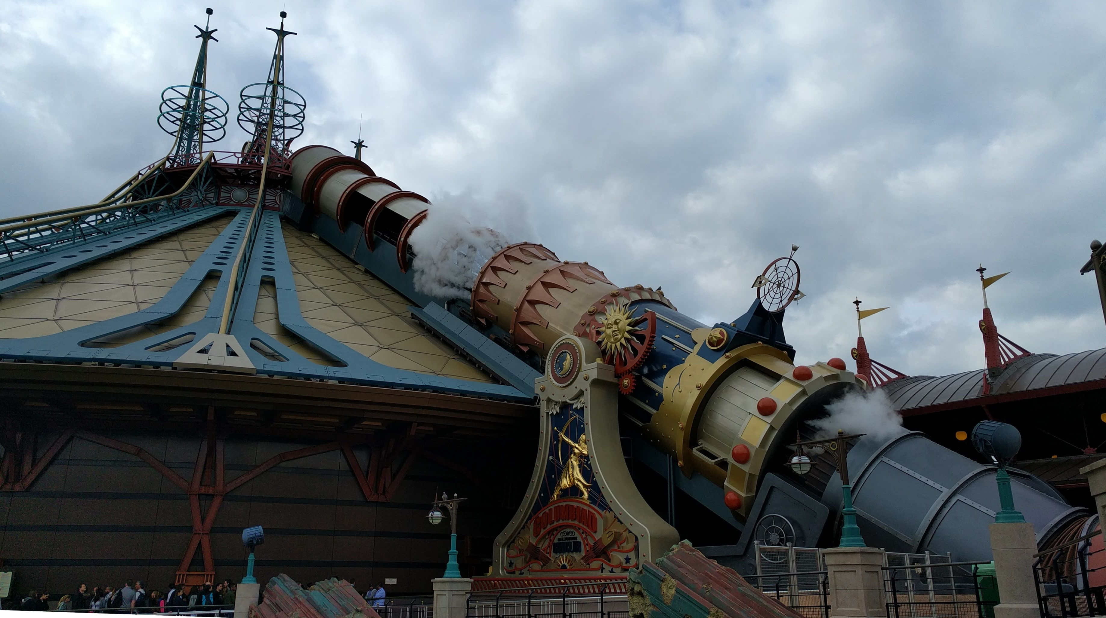 Disneyland Paris Space Mountain