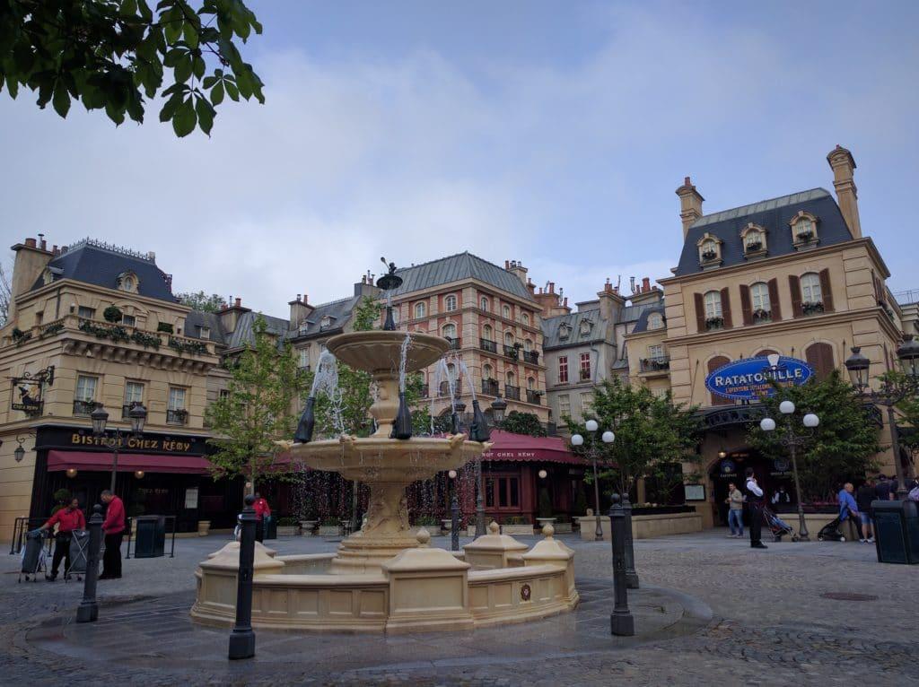 Disneyland Paris Walt Disney Studios La Place de Remy