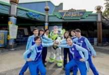 Hong Kong Disneyland - Final Mission Buzz Lightyear Astro Blasteres