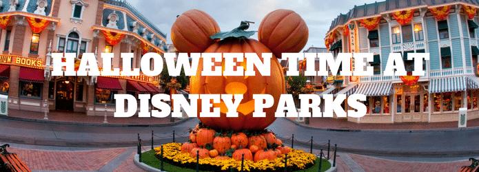 Halloween in Disney Parks