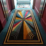 Hallway Carpeting - Disney's Hollywood Hotel Hong Kong Disneyland