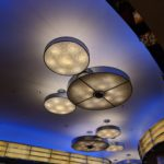 Mickey lighting at Chef Mickey - Disney's Hollywood Hotel Hong Kong Disneyland