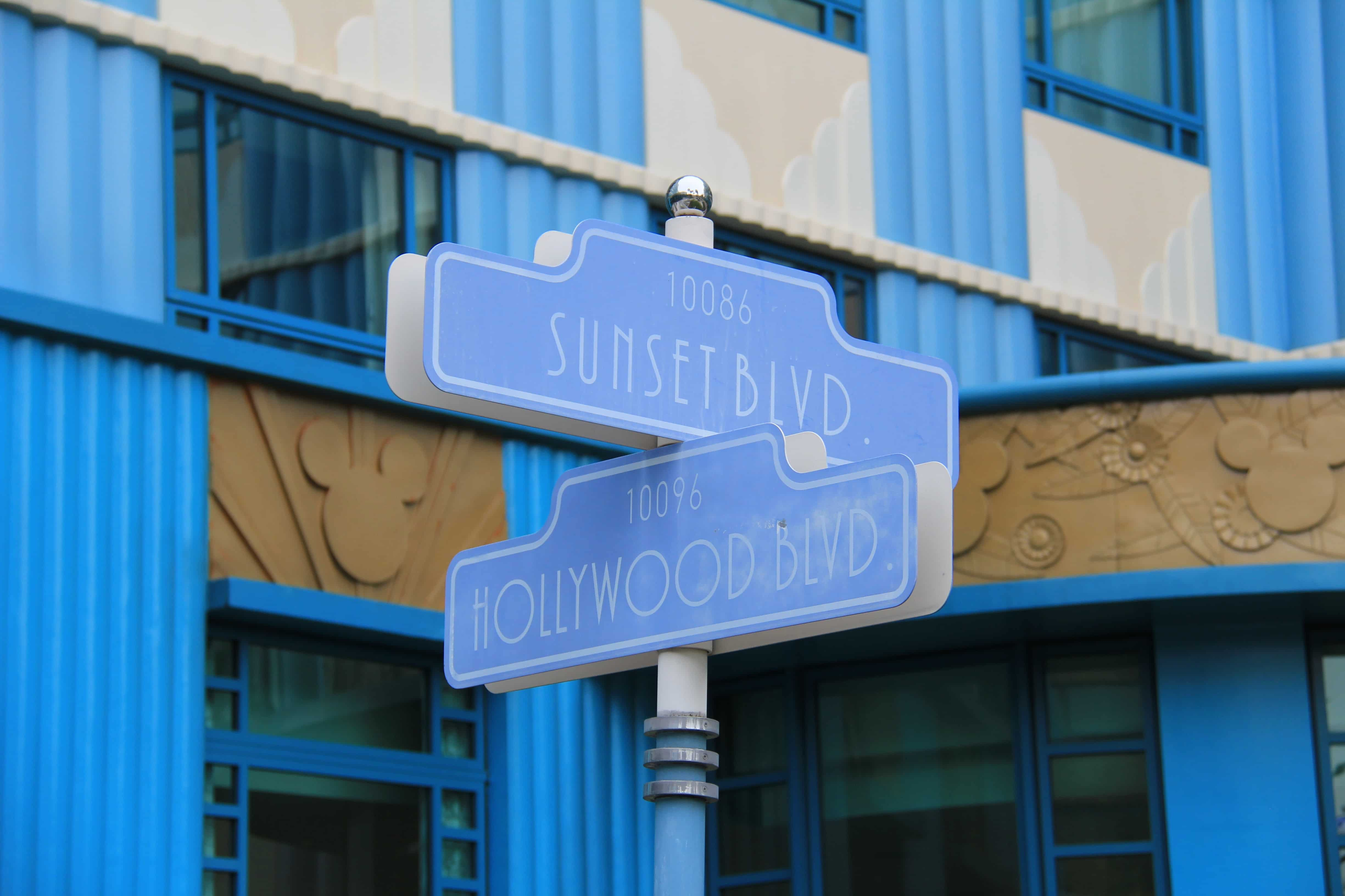 Hollywood Theming Back of Hotel - Disney's Hollywood Hotel Hong Kong Disneyland
