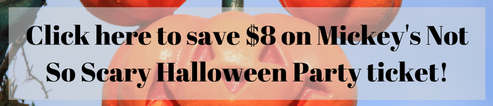 Save $8 on Mickey's Not So Scary Halloween Party ticket!