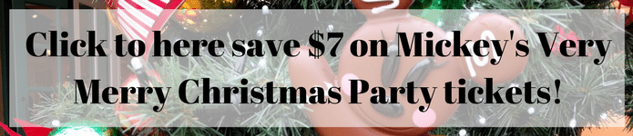 Save $7 on Mickey's Very Merry Christmas Party ticket!