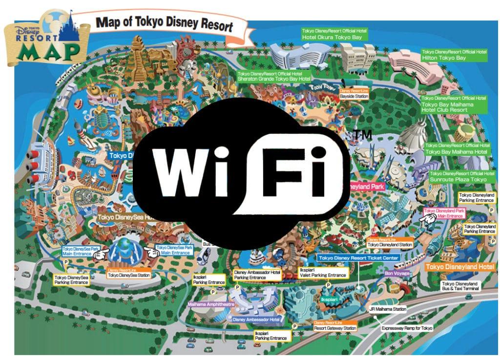 Tokyo Disney Resort Wi-fi