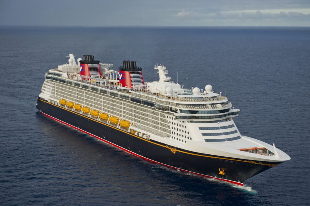 Disney Fantasy at Sea - Disney Cruise Line