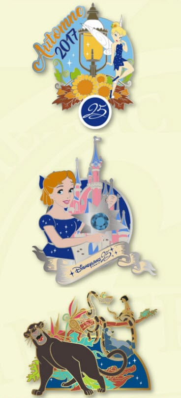 Disneyland Paris - Pins - September 2017 - Limited Edition