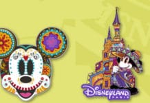 Disneyland Paris - Pins - September 2017 - Mickey