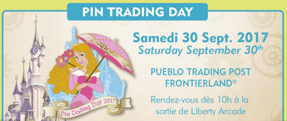 Disneyland Paris - Pins - September 2017 - Pin Trading Day