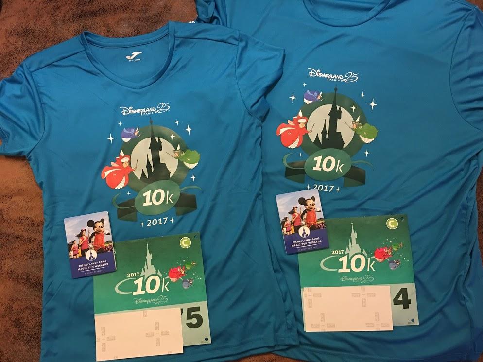 Disneyland Paris - runDisney - 10k Shirt