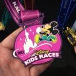 Disneyland Paris - runDisney 2017 - medals Kid Races