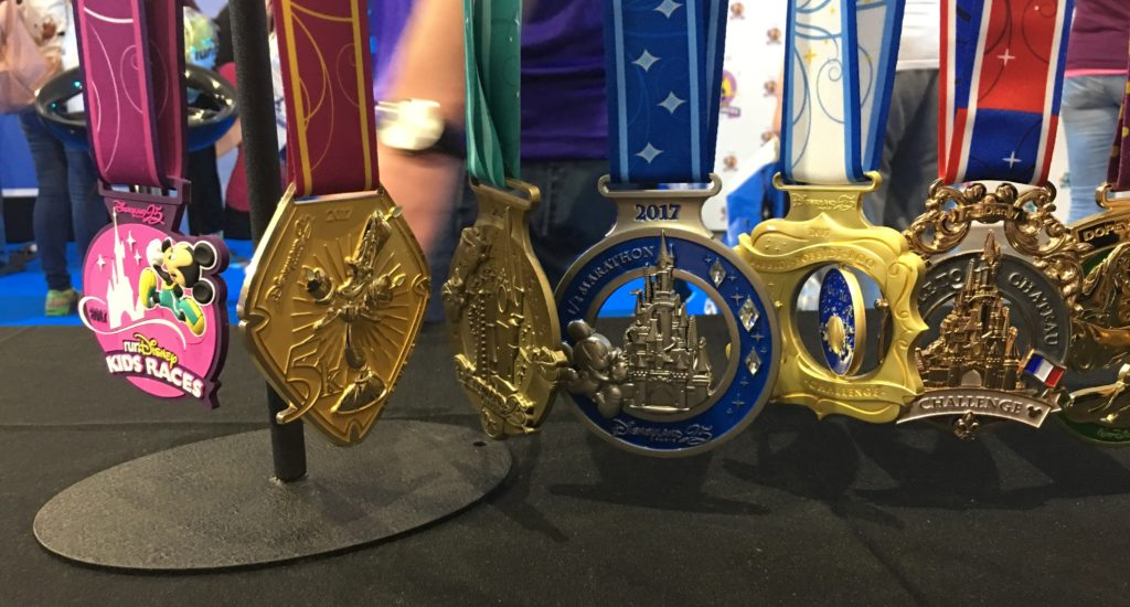 Disneyland Paris - runDisney 2017 - medals