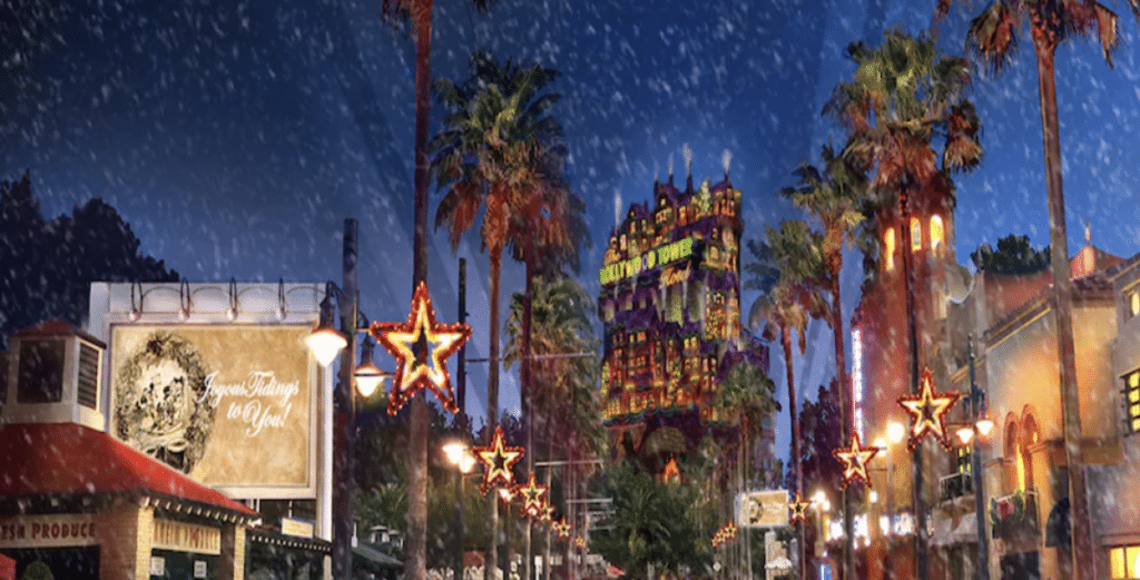 Disney's Hollywood Studios - Sunset Seasons Greetings