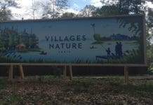 Villages Nature - Disneyland Paris - Entrance Banner