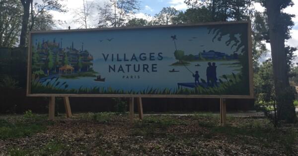 Villages Nature - Disneyland Paris - Entrance Banner