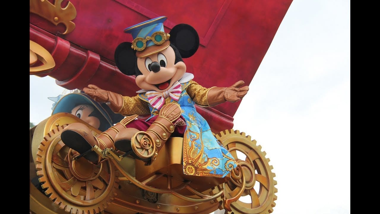 Video Disney Stars On Parade Infinity Viewing Travel