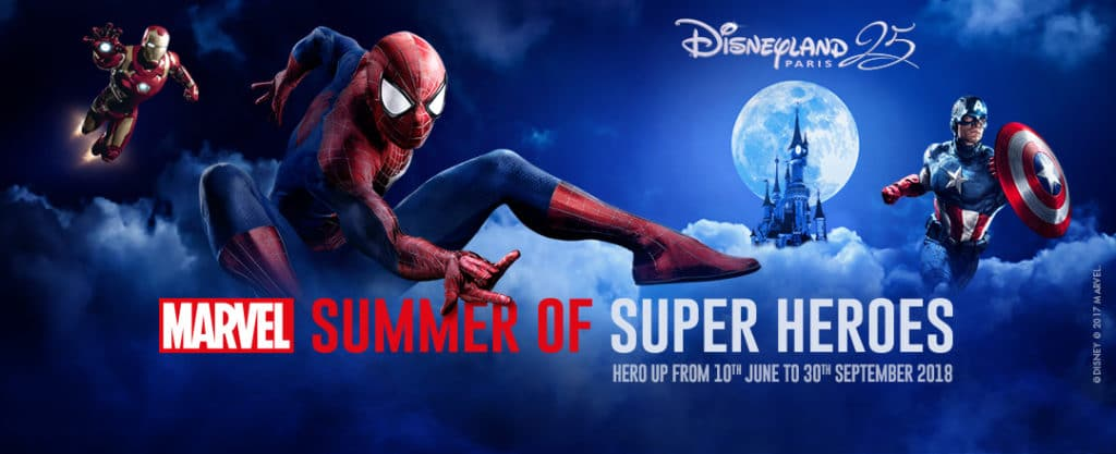 Disneyland Paris - Marvel Summer of Super Heroes 2018