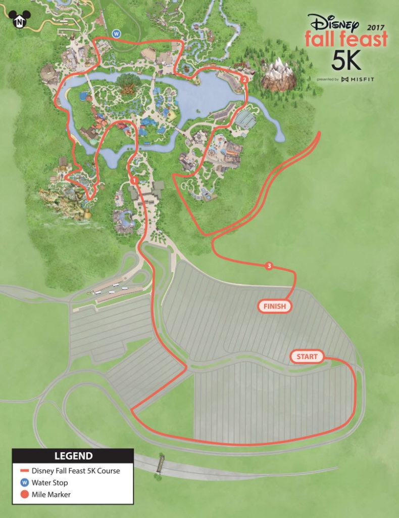 Walt Disney World Resort - Wine and Dine 5k 2017