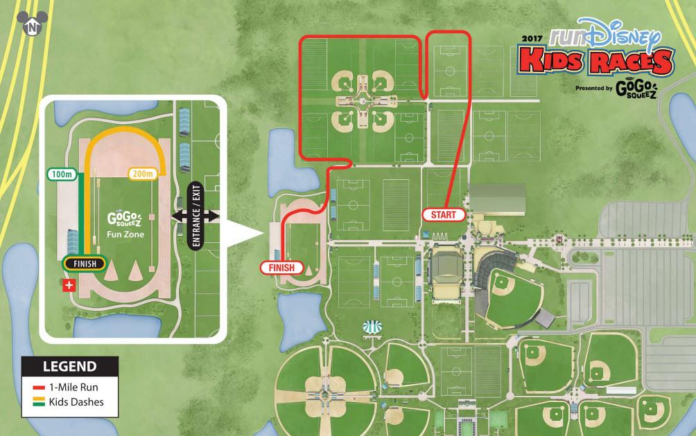Walt Disney World Resort - Wine and Dine kids races 2017