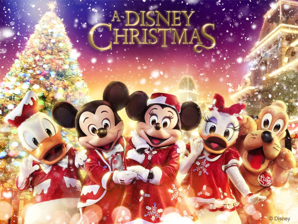 Hong Kong Disneyland A Disney Christmas 2018