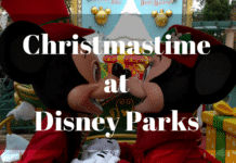 Christmastime at the Parks
