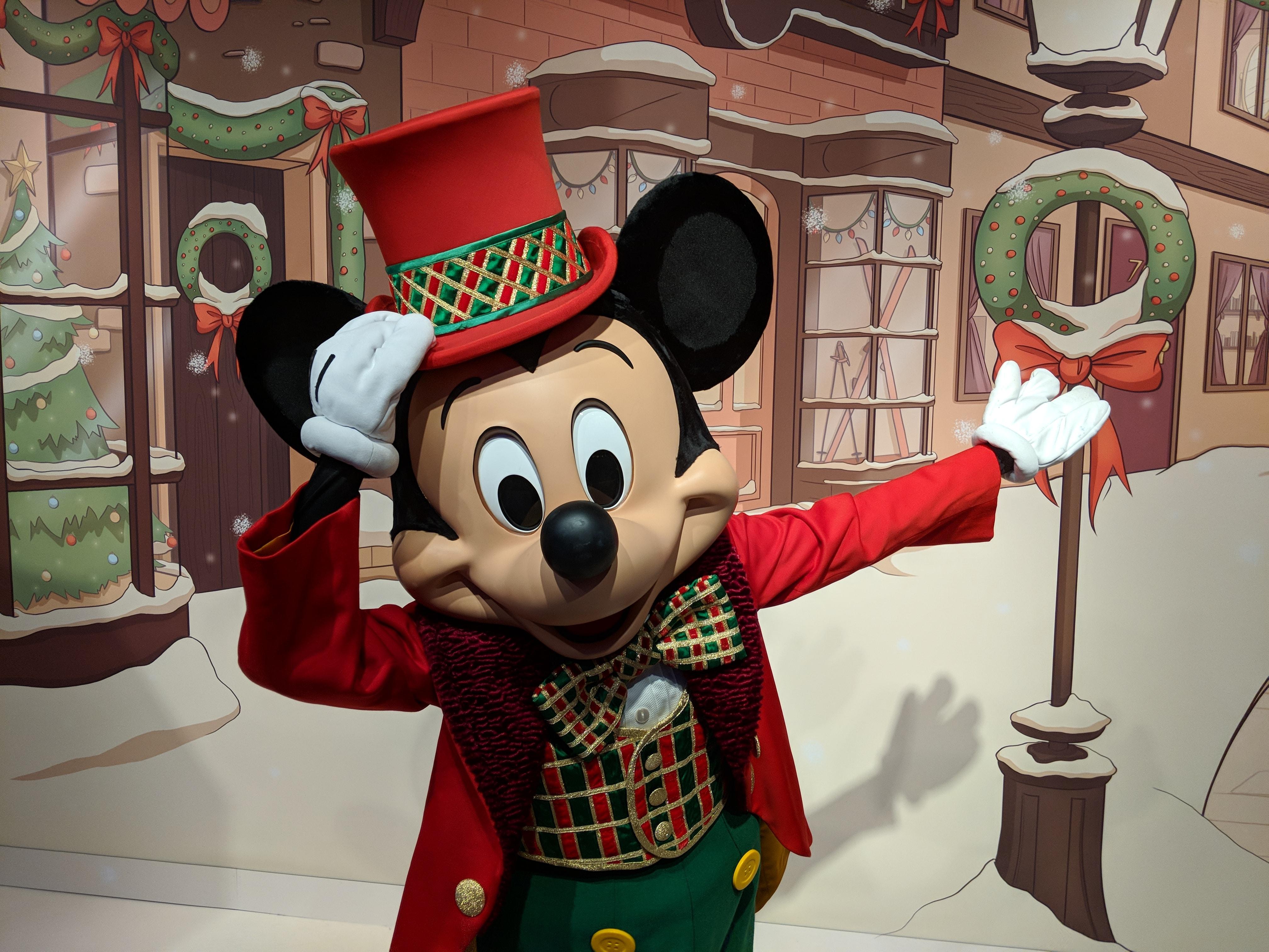 Disneyland Paris - Christmas 2017 - Mickey Meet 'n Greet