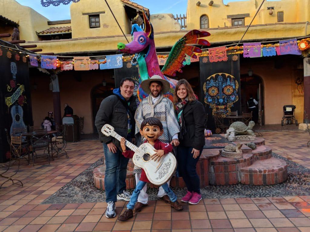 Disneyland Paris - Christmas 2017 - Miguel Coco Meet 'n Greet