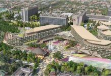 Disneyland Resort - New Hotel West Side