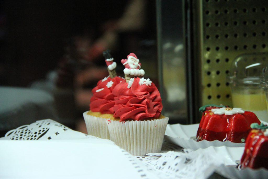 Disnyeland Paris - Christmas 2017 - cupcake