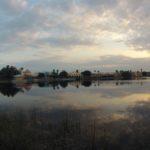 Sunset at Lago Dorado