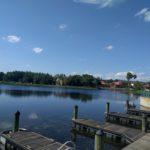 Looking Out at Lago Dorado from El Centro
