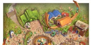 Shanghai Disney Resort - Toy Story Land - Disney Toy Story Land Fun Map