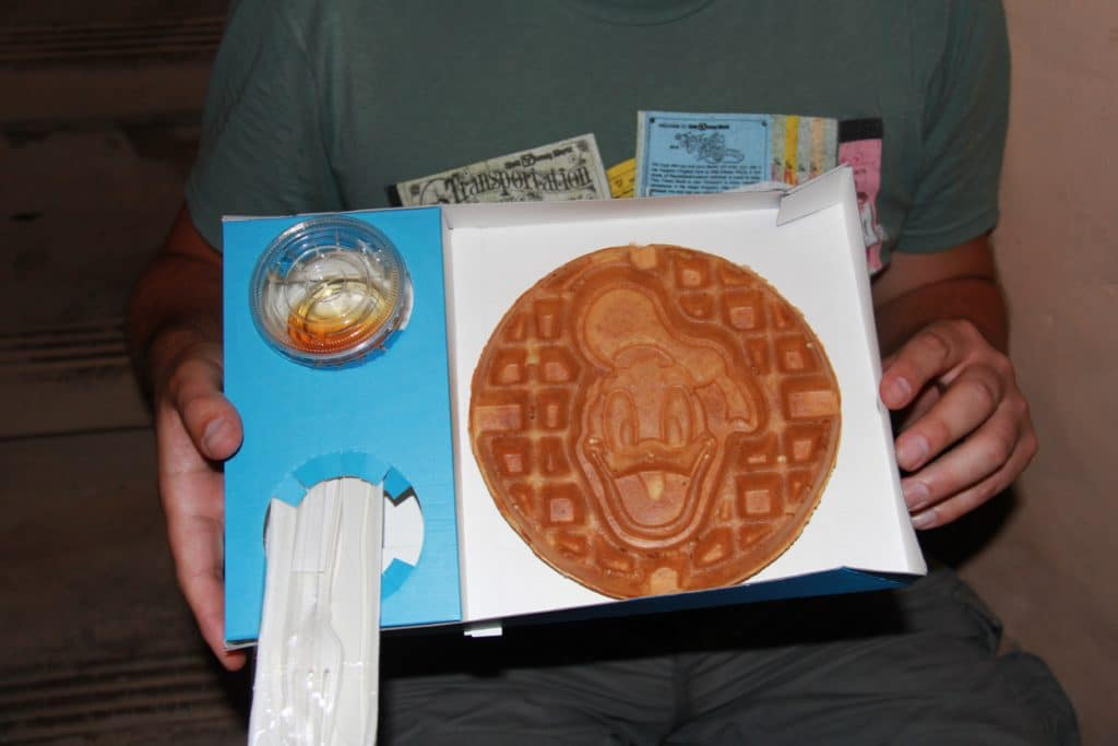 Shanghai Disneyland - Il Paperino - Donald Waffle