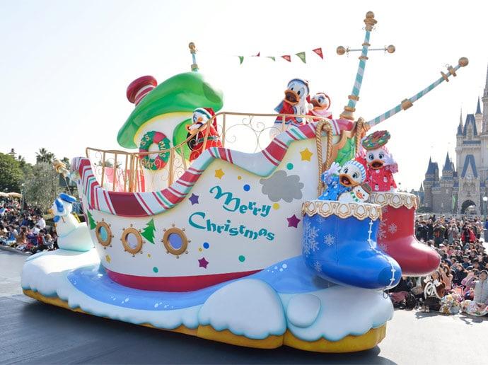 Tokyo Disneyland - Christmas 2017 - Disney Christmas Stories