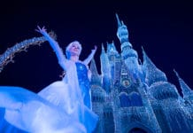 Walt Disney World Resort - Magic Kingdom Park - A Frozen Holiday Wish
