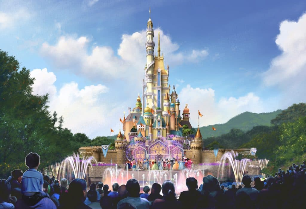 Hong Kong Disneyland - Castle Transformation