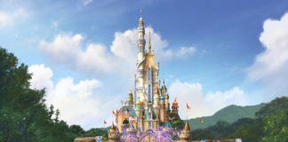 Hong Kong Disneyland - Castle Transformation